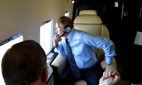 Бывший пилот Путина рассказал о его поведении в полете